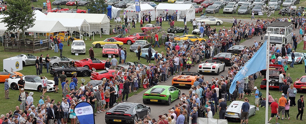 Sherborne Classic Car Show & Classic Car Storage
