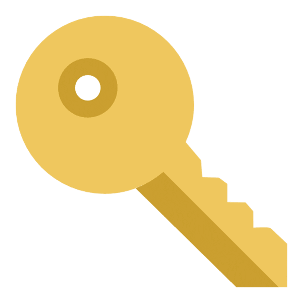 gold key icon