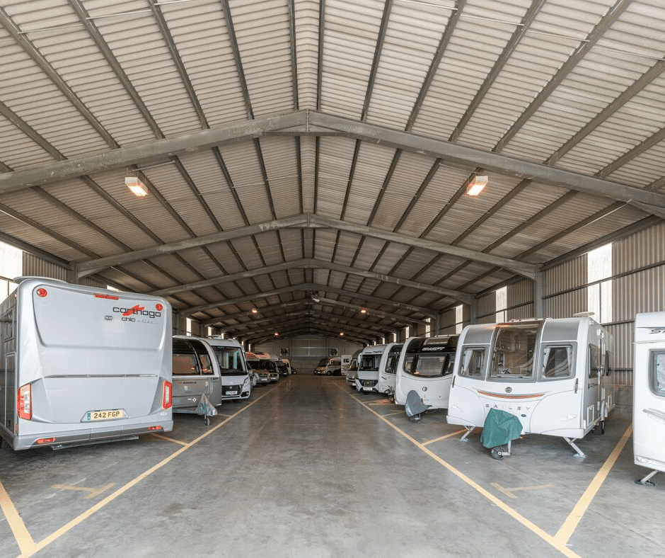 Caravan storage | Hogleaze Storage