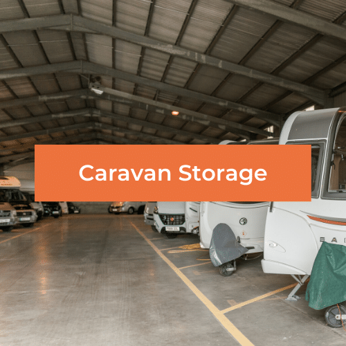 Caravan storage at Hogleaze