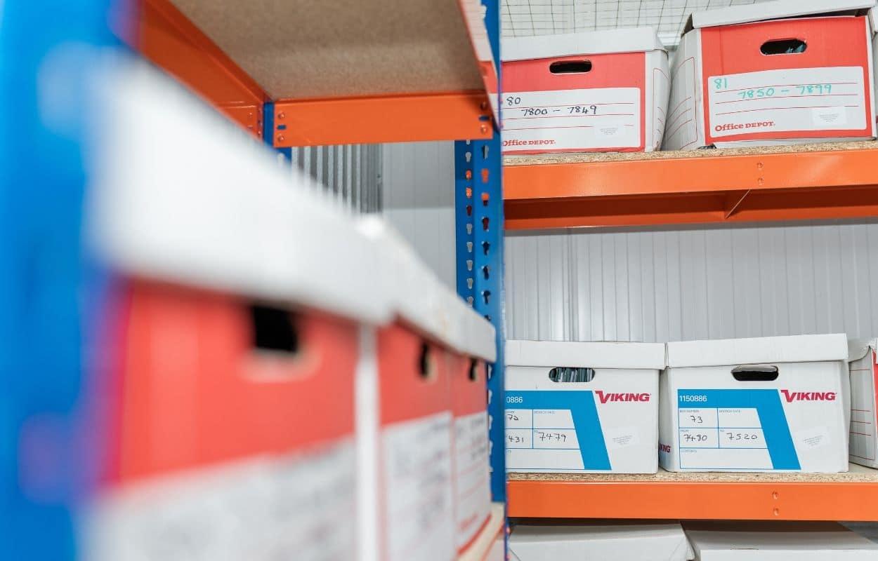 Document storage at Hogleaze