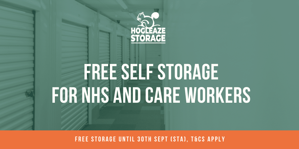Storage discount for NHS workers