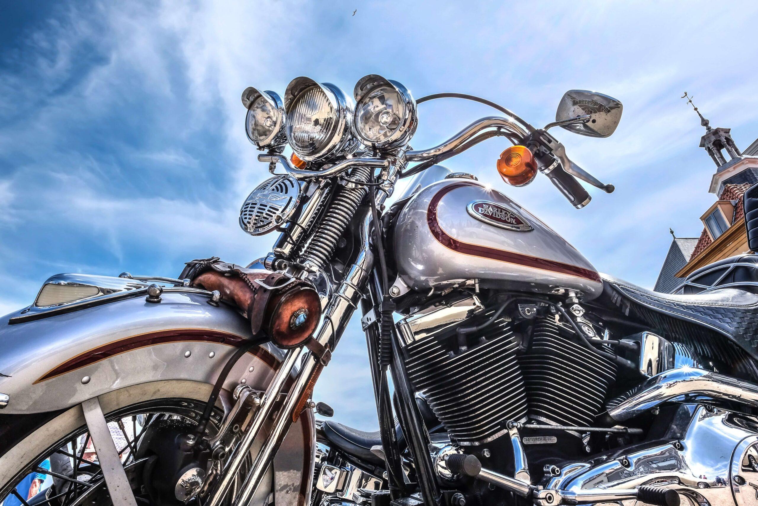 Secure motorcycle storage