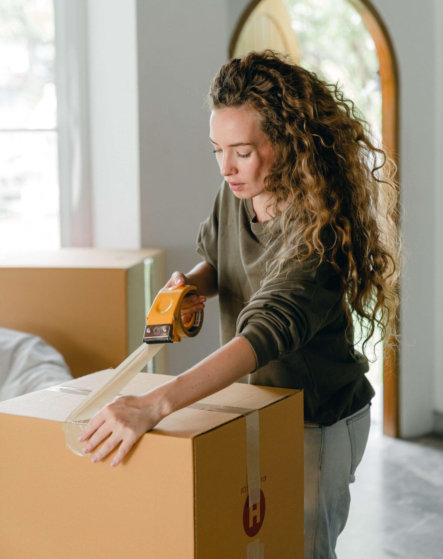 moving house storage unit