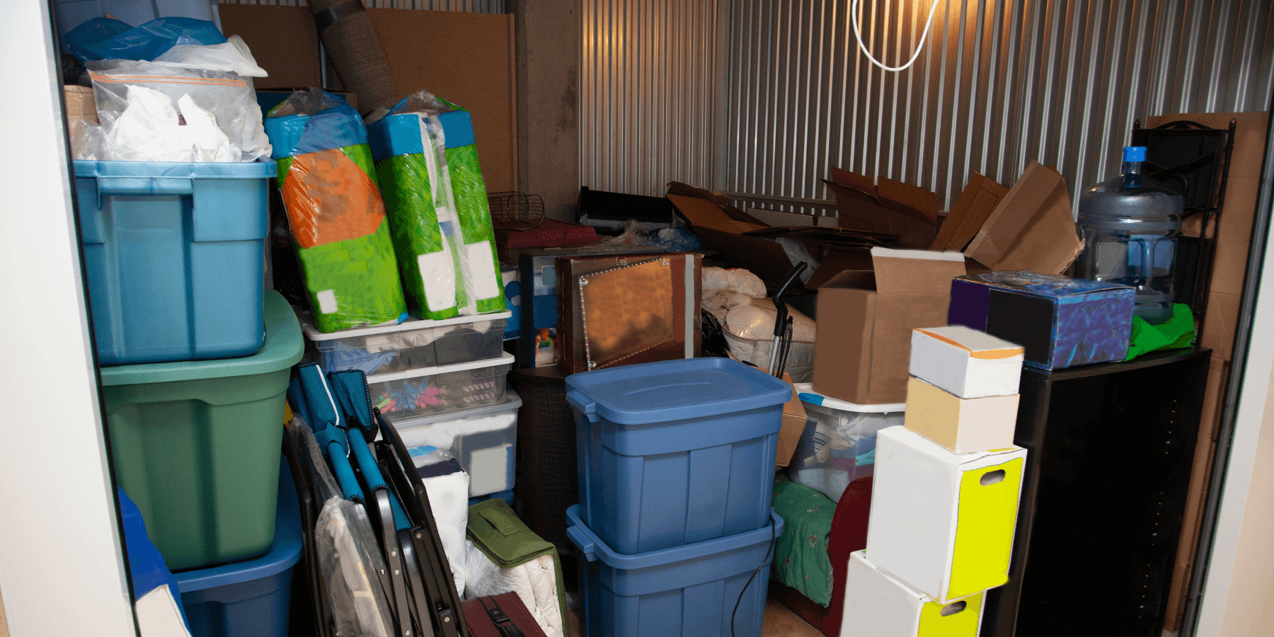 Telltale signs you need a storage unit